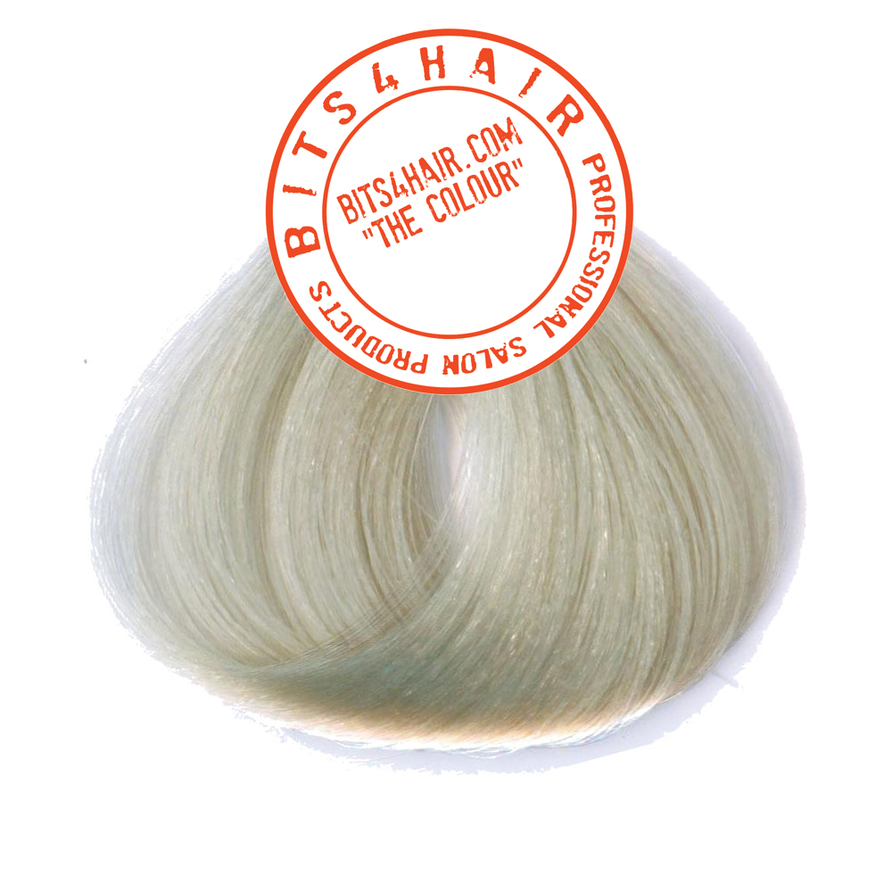 "(Colour: 11.8) BITS4HAIR ""THE COLOUR"" Permanent Colour/Color: Ultra Light Intense Pearl Blonde.  Code: 11.8"
