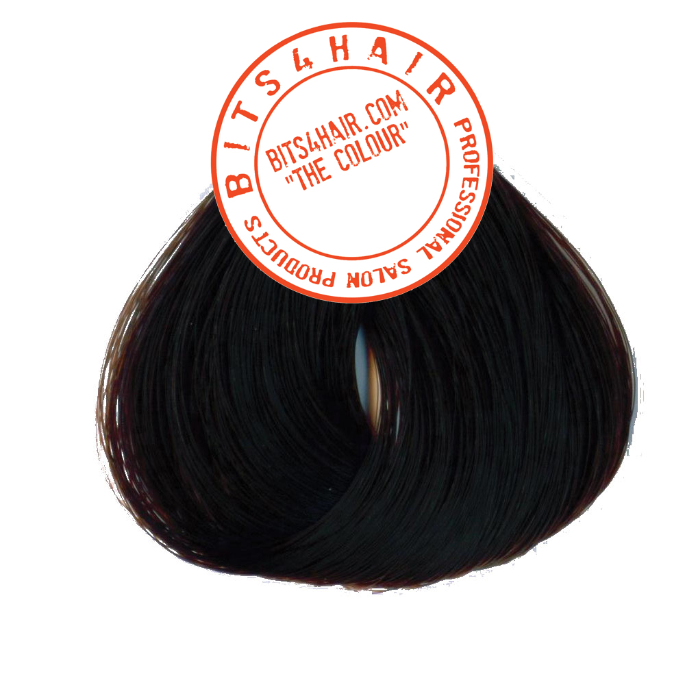 "(Colour: 4.45) BITS4HAIR ""THE COLOUR"" Permanent Colour/Color: Copper Mahogany Brown.  Code: 4.45"