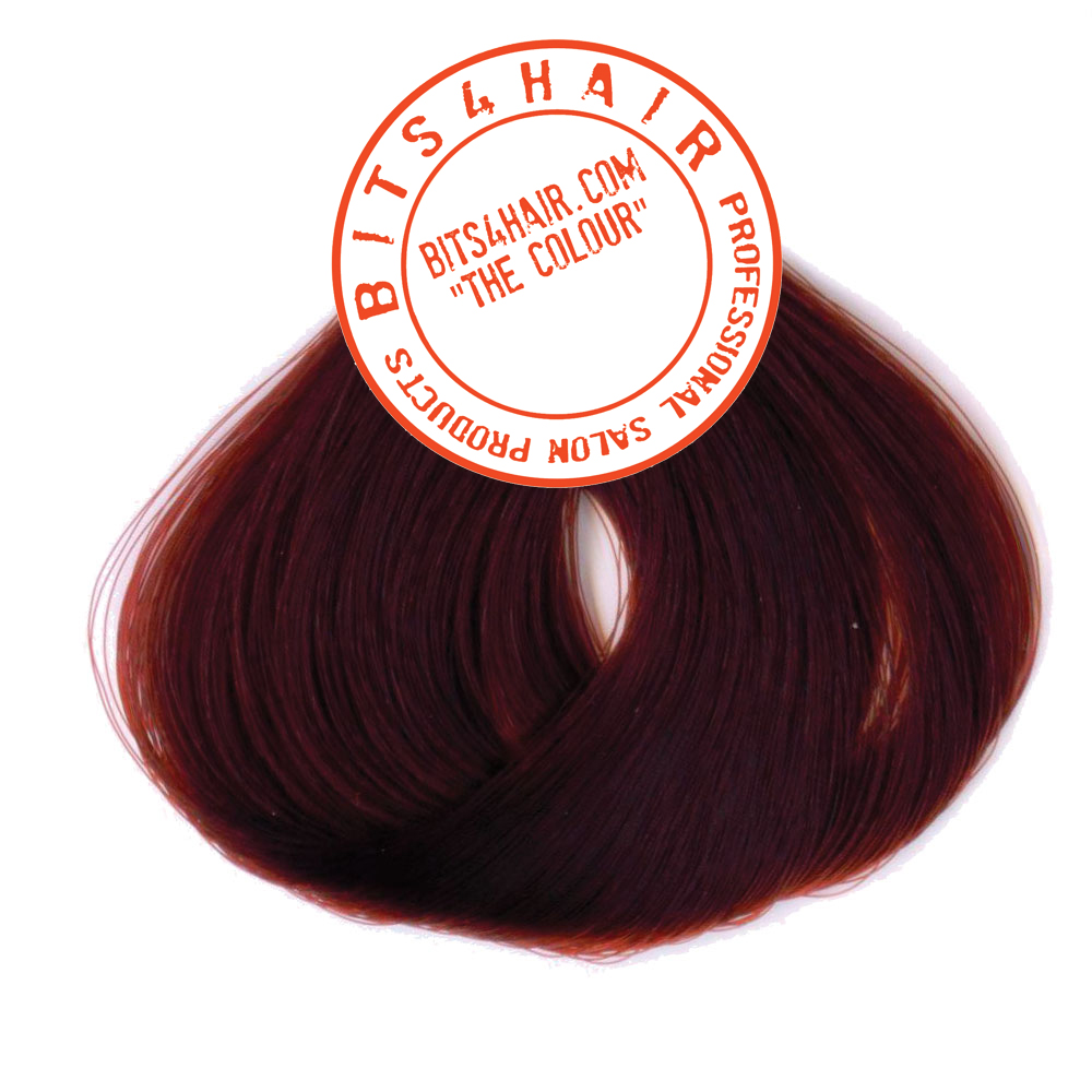 "(Colour: 5.62) BITS4HAIR ""THE COLOUR"" Permanent Colour/Color: Light Red Irise Brown.  Code: 5.62"