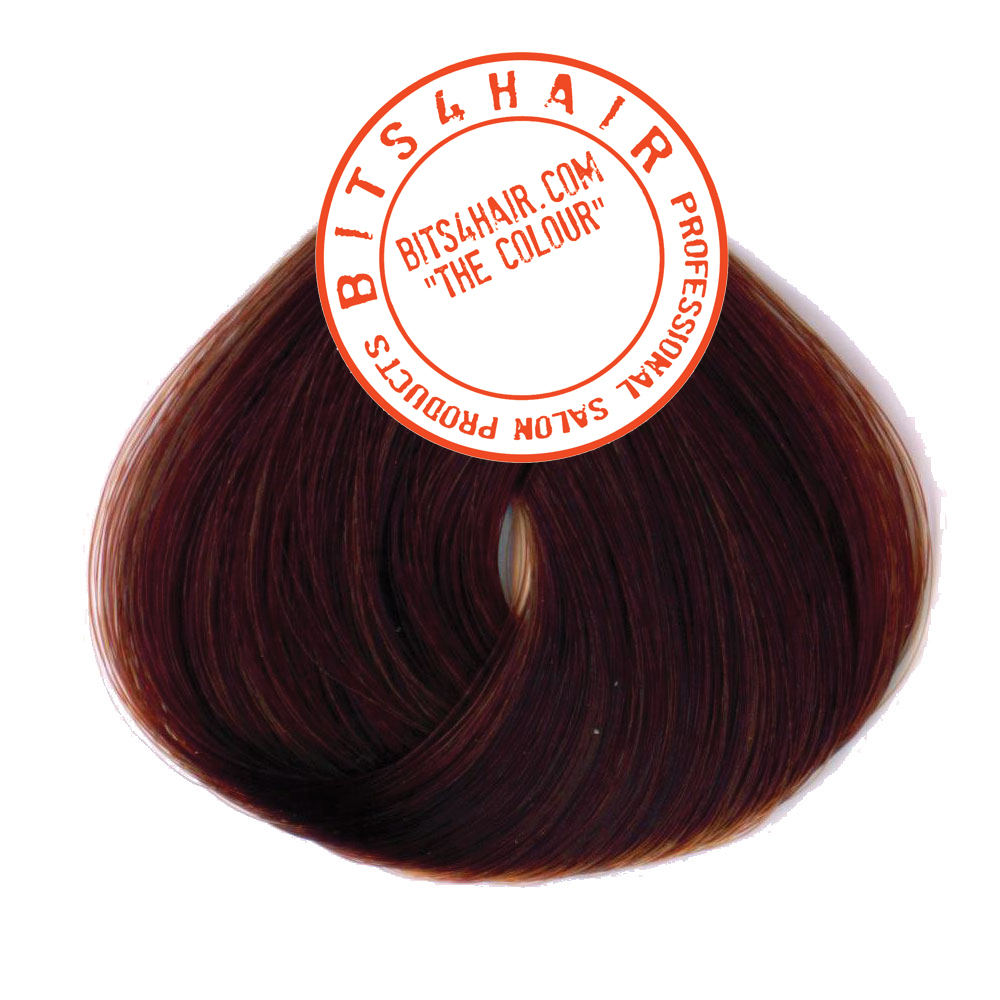 "(Colour: 7.45) BITS4HAIR ""THE COLOUR"" Permanent Colour/Color: Copper Mahogany Blonde.  Code: 7.45"
