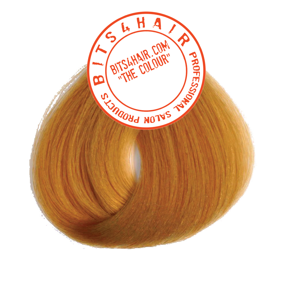 "(Colour: 8.33) BITS4HAIR ""THE COLOUR"" Permanent Colour/Color: Intense Golden Blonde.  Code: 8.33"