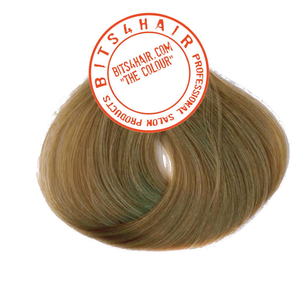 "(Colour: 9.13) BITS4HAIR ""THE COLOUR"" Permanent Colour/Color: Very Light Ash Golden Blonde.  Code: 9.13"