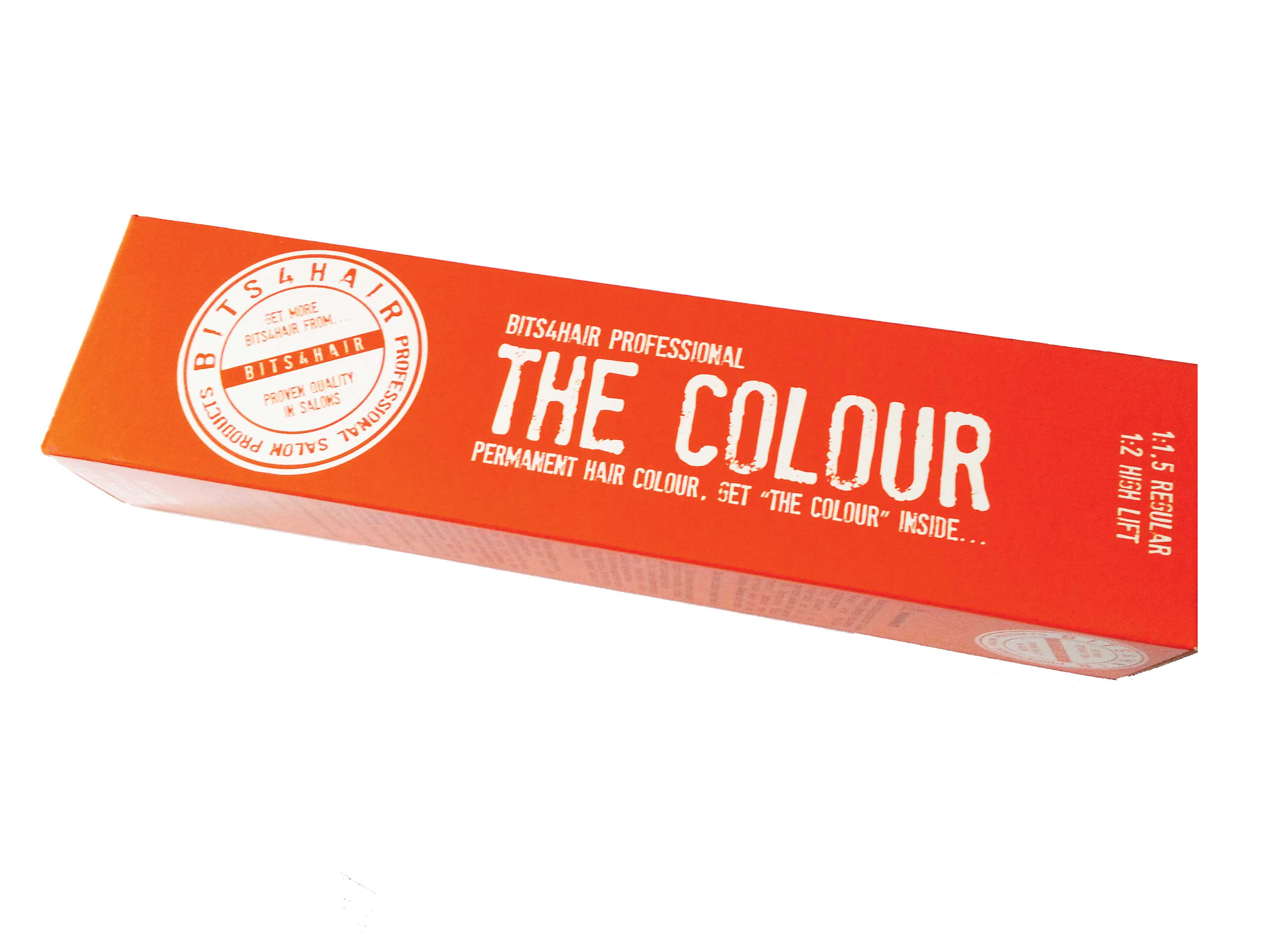 "(Colour: 9.1) BITS4HAIR ""THE COLOUR"" Permanent Colour/Color: Very Light Ash Blonde.  Code: 9.1"